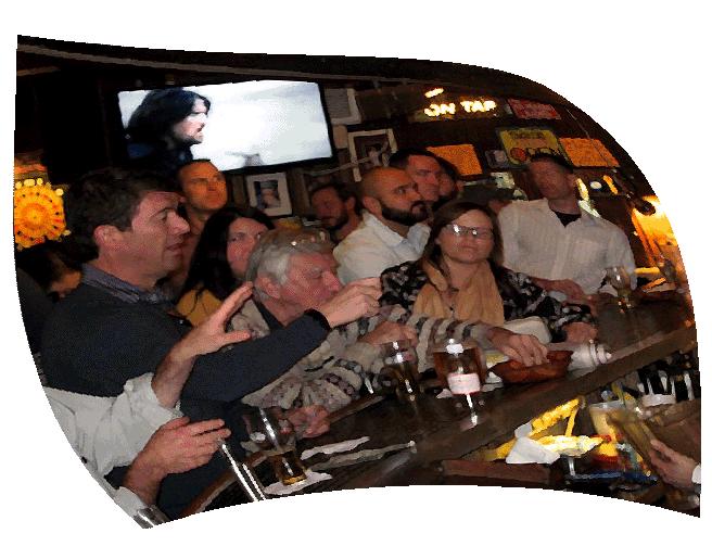 People at Bay Horse Tavern Tucson