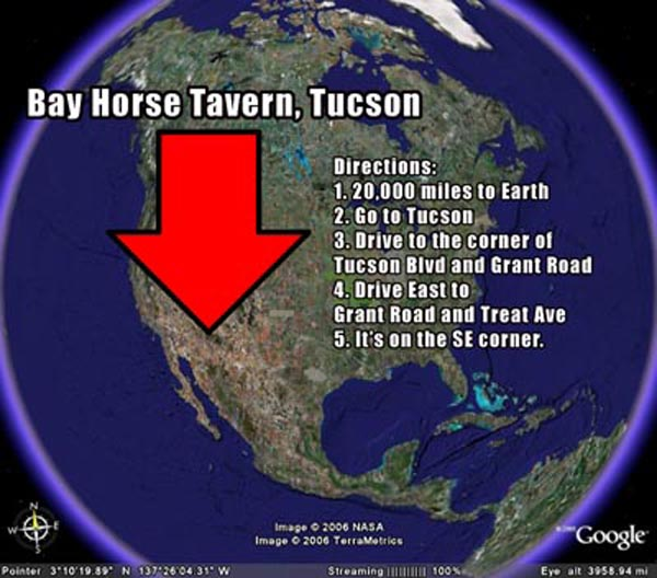 Bay Horse Tavern Google Map