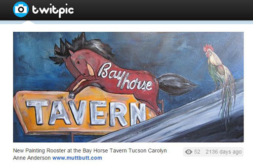 Bay Horse Tavern painting by Carolyn Anderson