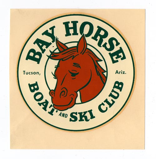 The Bay Horse Boat and Ski Club decal